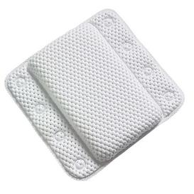 image-Memory Foam White Bath Pillow White