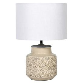 image-Patterned Lamp with Shade