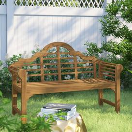 image-Shepha Wooden Bench Sol 72 Outdoor Finish: Natural
