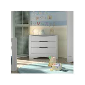 image-Mathy by Bols Fusion Three Drawer Chest - Mathy Summer Pink