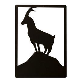image-Goat Geometric Metal Wall Décor Happy Larry