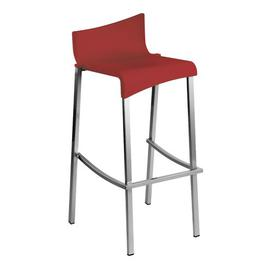 image-Clivesden 80cm Bar Stool Sol 72 Outdoor Colour: Bordeaux