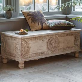 image-Gallery Direct Satara Storage Table Bench