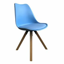 image-Dining Chair Just Kids Upholstery Colour: Sky Blue, Frame Colour: Sky Blue