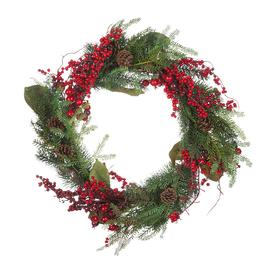 image-A by AMARA Christmas - Pinecone & Berry Deco Wreath