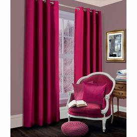 image-Geise Grommet Eyelet Room Darkening Thermal Curtains Brayden Studio Colour: Fuchsia, Size per Panel: 167 W x 137 D cm