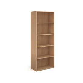 image-Value Line Classic+ Bookcase, White, Free Standard Delivery