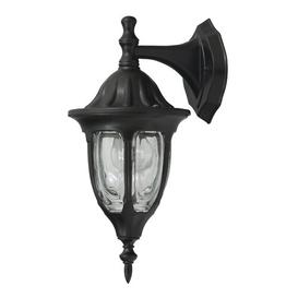 image-Bryant Outdoor Wall Lantern Marlow Home Co. Frame colour: Black