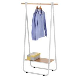 image-Jabari 90cm Wide Clothes Rack Isabelline