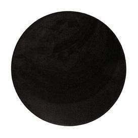 image-Mildenhall Dream Luxury Tufted Black Rug Canora Grey Rug Size: Round 150cm
