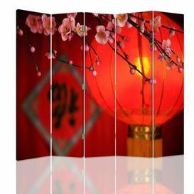 image-Schorr Room Divider Bloomsbury Market Number of Panels: 5, Size: 170cm H x 180cm W x 4cm D