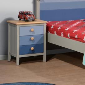 image-Atlantis 3 Drawer Bedside Table The Children's Furniture Company