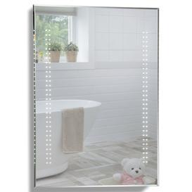 image-LED Illuminated Bathroom Wall Mirror YJ2534H size-80HX60WX5Dcm