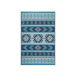 image-Fab Hab Cusco Outdoor Rug in Blue