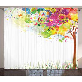 image-Kunst Pencil Pleat/Tab Top Blackout Thermal Curtains East Urban Home Dimensions per curtain: 260cm H x 140cm W