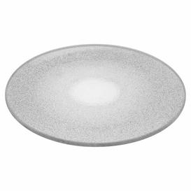 image-Decorative Plate Symple Stuff Size: 0.4cm H x 15cm W x 15cm D, Colour: Silver