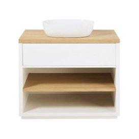 image-White 1-Drawer Vanity Unit Austral
