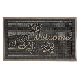 image-Morganton Pin Boot Trays & Scraper Happy Larry Mat Size: 0.5cm H x 75cm L x 45cm W