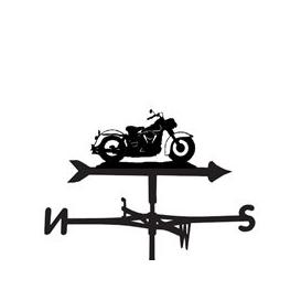image-Harley Davidson Motorbike Weathervane - Large (Traditional)