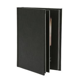 """image-Hinges Album (Set of 2) Symple Stuff Colour: Black, Photo Size: 5.07\"""" x 5.07\"""""""