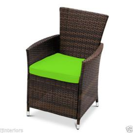 image-Garden Bar Stool Cushion Sol 72 Outdoor Colour: Lime