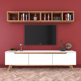"image-Merethe Entertainment Unit for TVs up to 55"" Mercury Row"