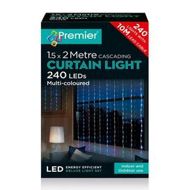 image-Premier LED Waterfall Curtain Light