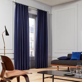 image-Coconut Pencil Pleat Semi-Sheer Curtain Madura