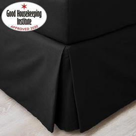 image-Non Iron Plain Dye Black Valance Black