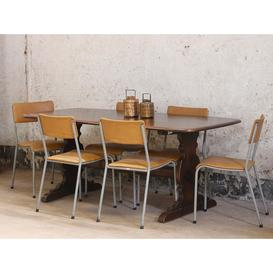 image-Vintage Elm Dining Table by Ercol  Large