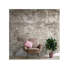 image-Swan Wall Mural (colour: Chestnut, size: Medium (300w x 320h))