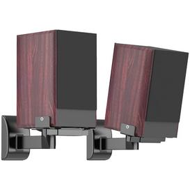 image-Side Clamping Bookshelf 29cm x 28cm Fixed Height Speaker Stand Symple Stuff