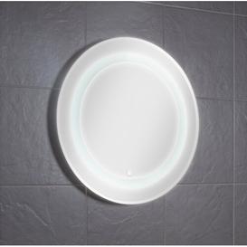 image-Birchwood Illuminated Round Bathroom/Vanity Mirror Croydex