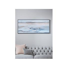 image-Abstract Tides Framed Canvas