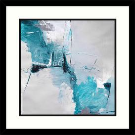 image-Natasha Barnes - Free Flow II Framed Print & Mount, 61.5 x 61.5cm