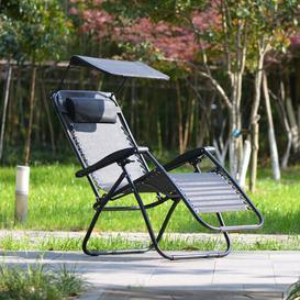 image-Thialvi Reclining Sun Lounger Sol 72 Outdoor