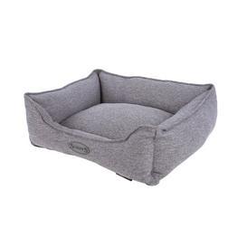 image-Bolster Cushion Scruffs Size: 17cm H x 50cm W x 40cm D, Colour: Dark Grey