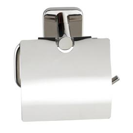 image-Mezzano Wall Mounted Toilet Roll Holder with Cover Symple Stuff