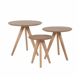 image-Broken Hill 3 Piece Nest of Tables Brayden Studio