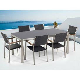 image-Salyer 6 Seater Dining Set Sol 72 Outdoor
