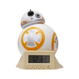 image-Star Wars BB-8 Night Light Alarm Clock