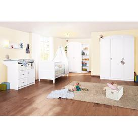 image-Laura 3-Piece Cot and Changing Unit Set Pinolino