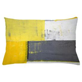 image-Bendiks Pale Squares Outdoor Cushion Cover