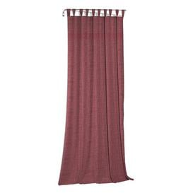 image-Lord Tab Top Room Darkening Single Curtain Mercury Row Curtain Colour: Red, Size: 150 W x 175 D cm
