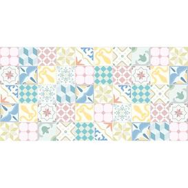 image-Samir Kitchen Mat Bloomsbury Market Mat Size: Rectangle 295 x 195cm, Colour: White/Pink