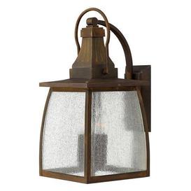 image-HK/MONTAUK/L 4 Light Down Light Wall Lantern in Sienna Finish