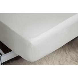 image-Baby Range Fitted Cot Sheet Belledorm Size: Crib, Colour: Ivory