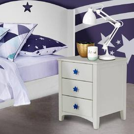 image-Starlight 3 Drawer Bedside Table The Children's Furniture Company