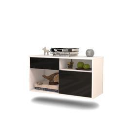 image-Allegany TV Stand Ebern Designs Colour: Black