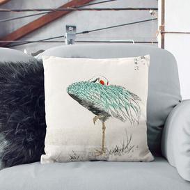 image-Crane by Numata Kashu Cushion with Filling